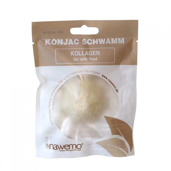 Konjac Schwamm Kollagen - für reife Haut