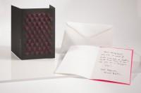 Reliefkarte - Würfel schwarz