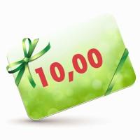 10 EUR-Gutscheinkarte