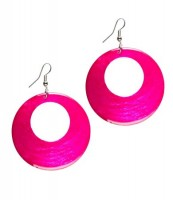 "Naturschmuck - Muschelohrringe ""Ashley"", pink"