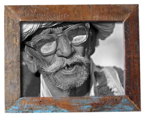 "fundholz recycling bilderrahmen ""quadrat classic"", 28cm x 28cm,"