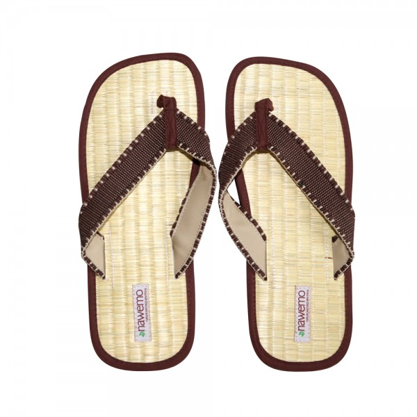 "Zimtslipper Nawemo ""Modern-Brown"""