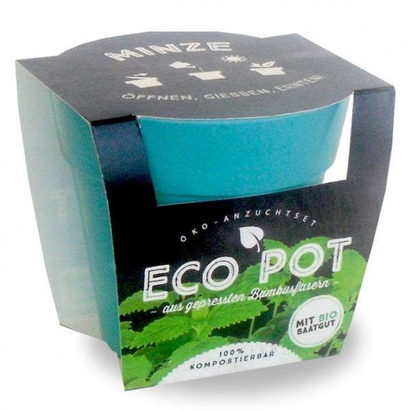 """Eco Pot - Anzuchtset """"Minze"""""""