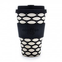 "Ecoffee Cup ""Basketcase"" 400ml, (14oz)"