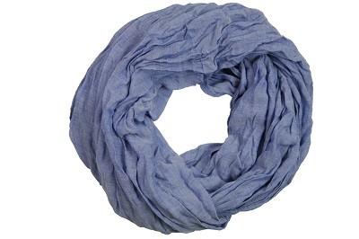 """Loop-Schal """"Juliane"""", dunkelblau, 180cmx100cm"""