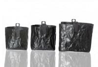 Fair-Trade Papierbehälter - 3er Set, schwarz