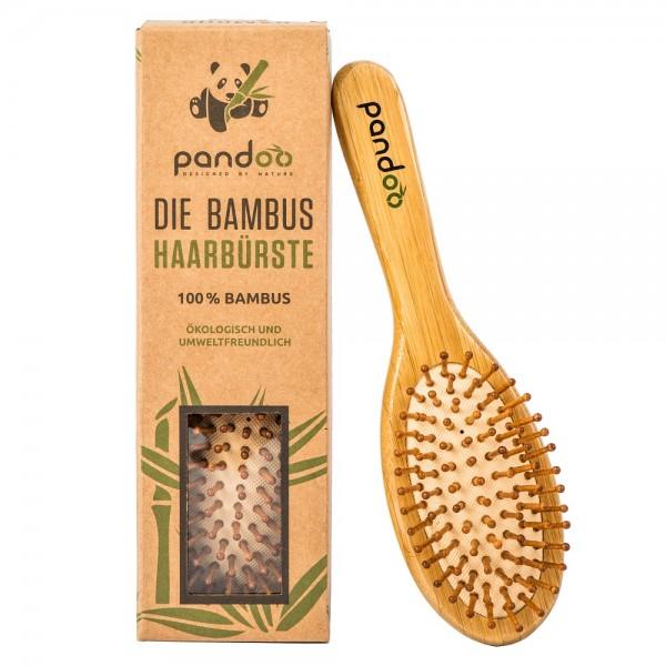 Bambus Haarbürste mit Naturborsten