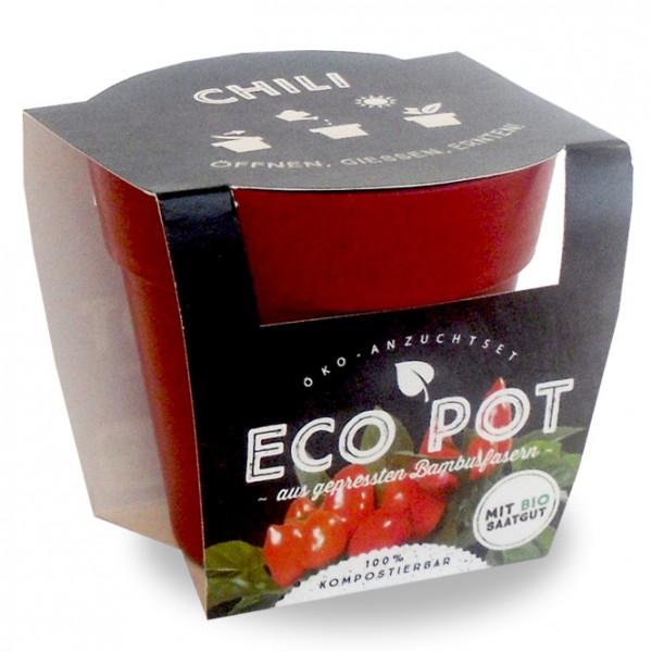 "Eco Pot - Anzuchtset ""Chili"""