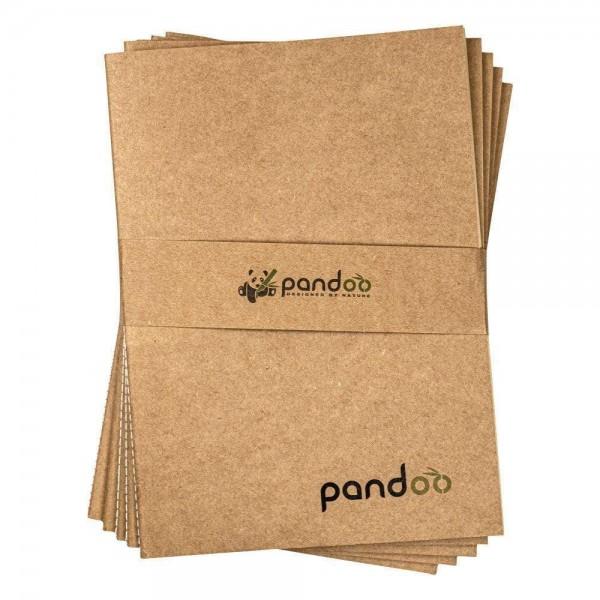 5 Notizhefte aus 100% Bambuszellstoff DIN A5
