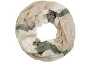 """Loop-Schal """"Peter"""", beige-weiß, 180cmx100cm"""