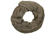 "Loop-Schal ""Juliane"", dunkelbraun, 180cmx100cm"