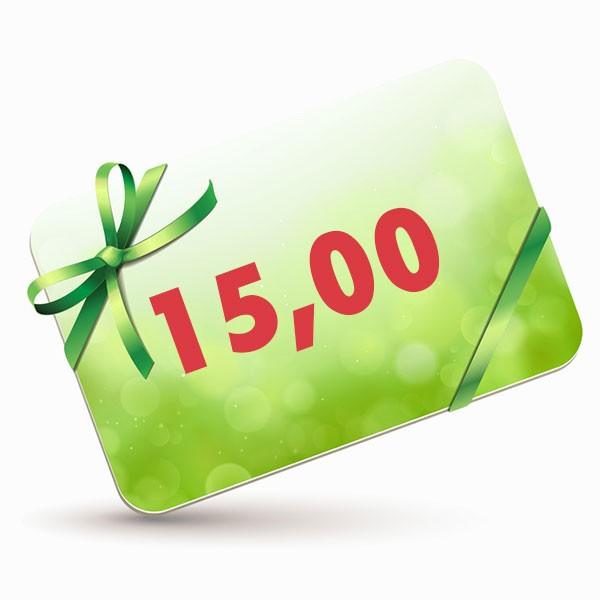 15 EUR-Gutscheinkarte