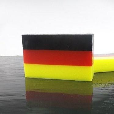 """Aroma Duftseife - """"Lemongras"""", Motiv Deutschland, 80g"""