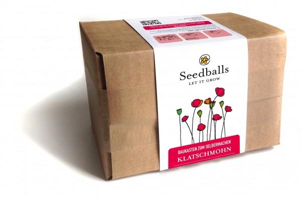 Seedballs Baukasten Klatschmohn