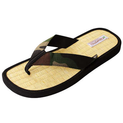 "Zimt-Slipper Nawemo ""Army"""