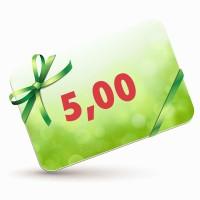 5 EUR-Gutscheinkarte
